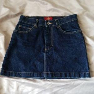 vintage gap mini skirt